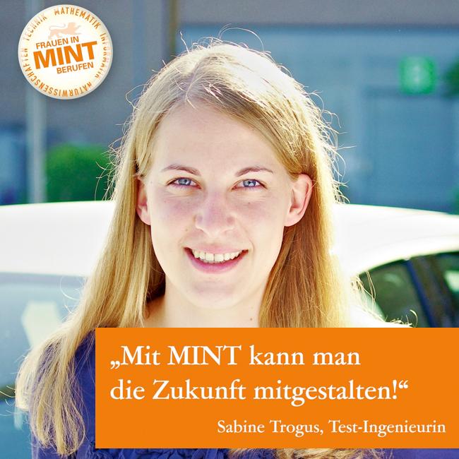 Elektromobilität: Sabine gestaltet die Zukunft mit MINT