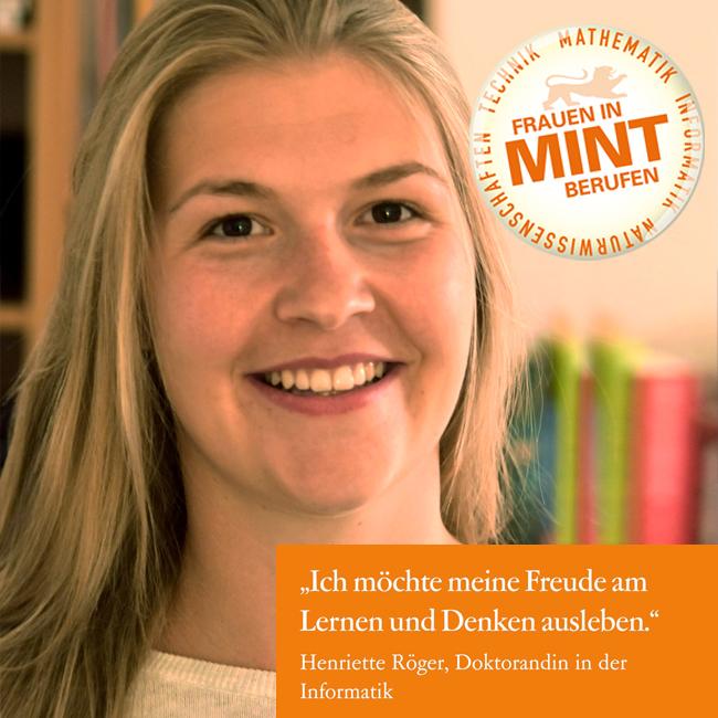 """""""Programmieren ist eine kreative Aufgabe"""" – Henriette promoviert im Bereich Informatik"""