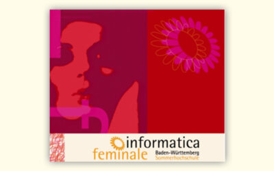 "Hochschulwoche ""informatica feminale Baden-Württemberg"" Ende Juli/Anfang August 2021"