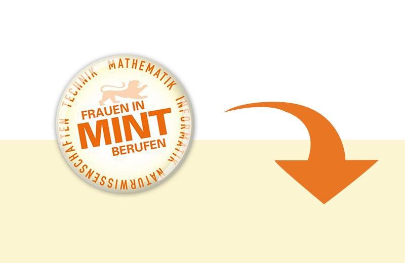 Mit Klick auf dieses Bild können Sie den Button der Landesinitiative Frauen in MINT-Berufen downloaden.