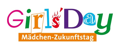 Mit Klick auf das bunte Girls-Day-Logo gelangen Sie zum zugehörigen Beitrag
