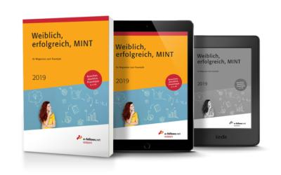"""Das Karrierebuch für Frauen: """"Weiblich, erfolgreich, MINT 2019″"""