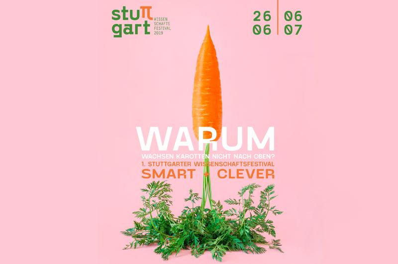 Logo des Smart und Clever Festivals, dem ersten Wissenschaftsfestival in Stuttgart