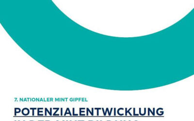 7. Nationaler MINT Gipfel in Berlin