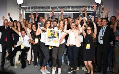 """Landesfinale des Wettbewerbs """"Start-up BW Elevator Pitch"""": Spoontainable aus Stuttgart holt sich den Gesamtsieg"""