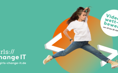 """Wirtschaftsministerin startet Videowettbewerb """"Girls change IT"""""""