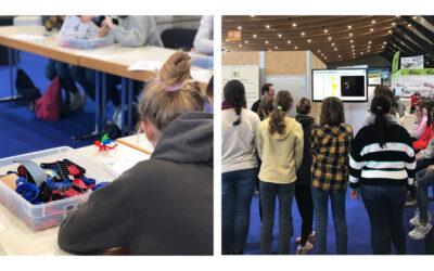"""Die Landesinitiative """"Frauen in MINT-Berufen"""" bietet mit spannenden Workshops den MINT-Bereich zum Anfassen an!"""