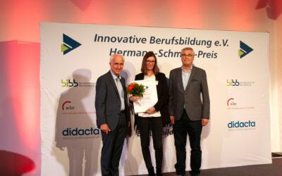 """Projekt """"Frauen im Handwerk"""" mit Sonderpreis des Hermann-Schmidt-Preises 2019 geehrt"""