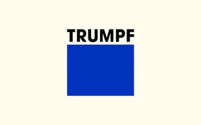 Mit Klick auf dieses Logo gelangen Sie zum Unterstützer-Porträt der Trumpf GmbH