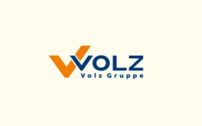 Mit Klick auf dieses Logo gelangen Sie zum Unterstützer-Porträt der Volz Gruppe