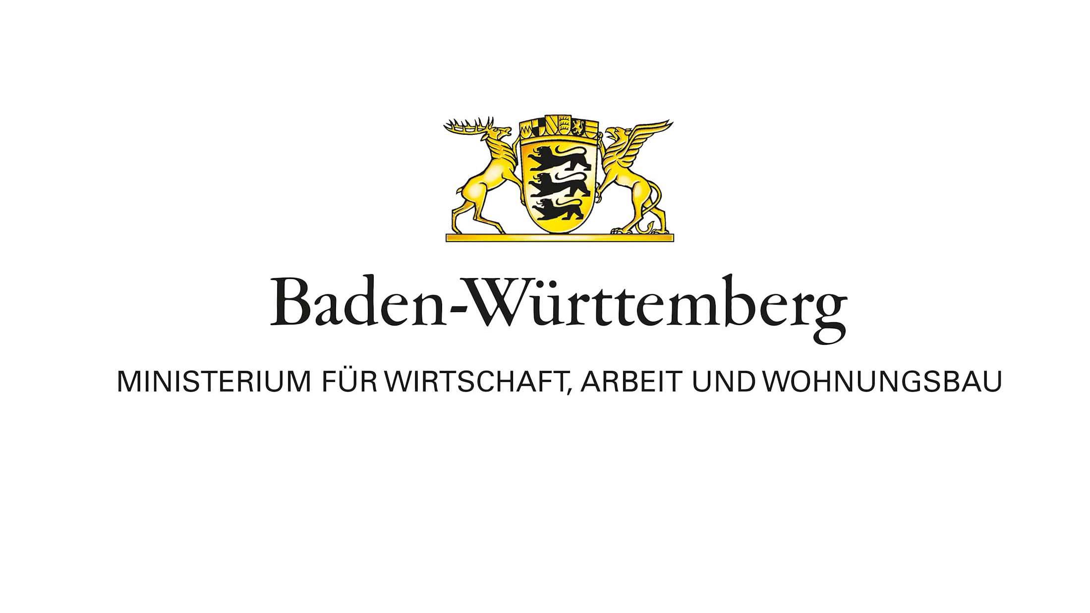 Logo des Ministeriums für Wirtschaft, Arbeit und Wohnungsbau