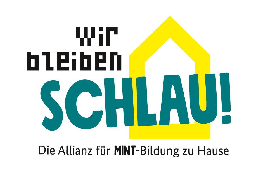 Logo der Initiative Wir bleiben schlau