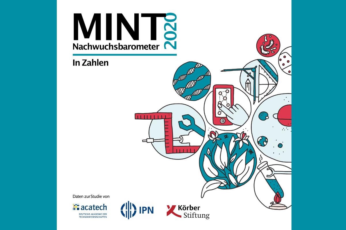 Logo des MINT Nachwuchsbarometers 2020