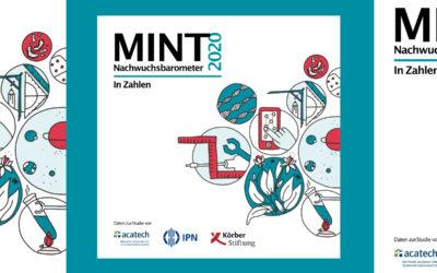Nachwuchsbarometer 2020: zu viele leistungsschwache Schülerinnen und Schüler im MINT-Bereich