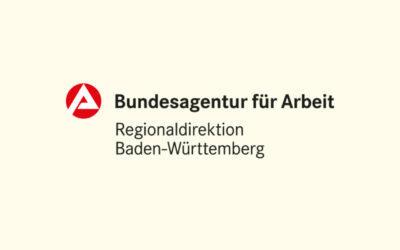 Mit Klick auf dieses Logo gelangen Sie zum Bündnispartner-Porträt der Bundesagentur für Arbeit Baden-Württemberg