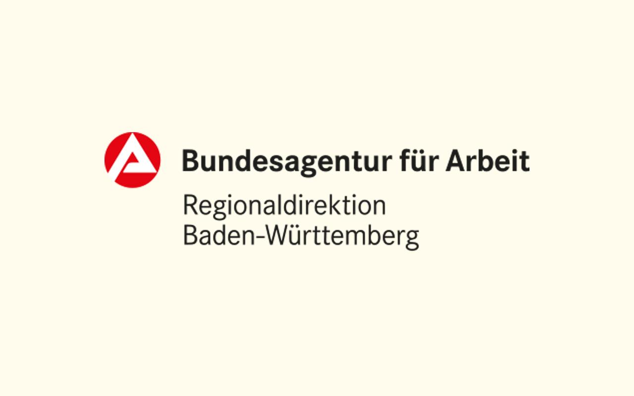 Logo der Regionaldirektion Baden-Württemberg der Bundesagentur für Arbeit