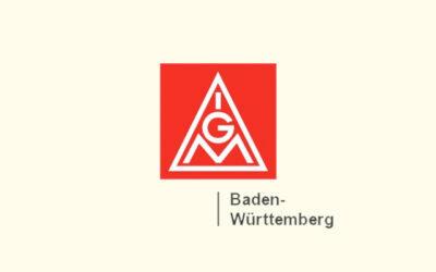 Mit Klick auf dieses Logo gelangen Sie zum Bündnispartner-Porträt der IG Metall Baden-Württemberg