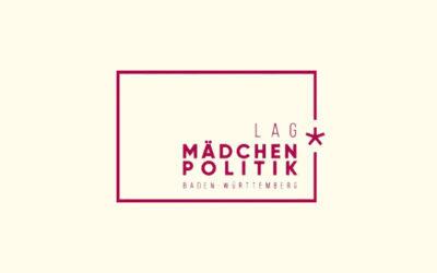 Mit Klick auf dieses Logo gelangen Sie zum Bündnispartner-Porträt der Landesarbeitsgemeinschaft Landesmädchenpolitik Baden-Württemberg