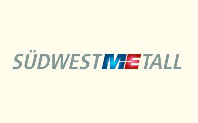 Mit Klick auf dieses Logo gelangen Sie zum Bündnispartner-Porträt der Südwestmetall