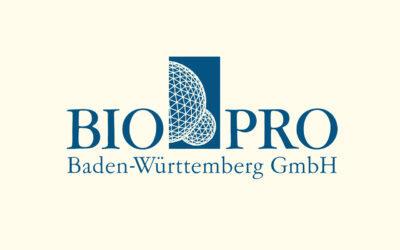 Mit Klick auf dieses Logo gelangen Sie zum Bündnispartner-Porträt der BIOPRO Baden-Württemberg GmbH