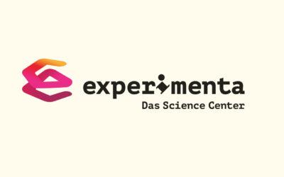 Mit Klick auf dieses Logo gelangen Sie zum Bündnispartner-Porträt der experimenta