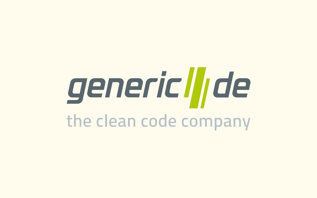Logo der generic.de software technologies AG