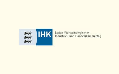 Mit Klick auf dieses Logo gelangen Sie zum Bündnispartner-Porträt des Baden-Württembergischen Industrie-und Handelskammertages