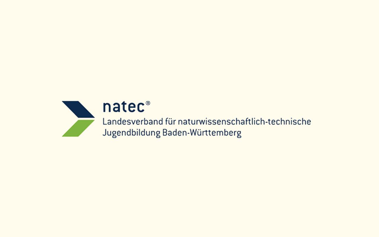 Logo des Landesverbands für naturwissenschaftlich-technische Jugendbildung in Baden-Württemberg