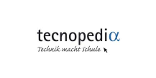 Mit Klick auf dieses Bild gelangen Sie auf www.tecnopedia.de - eine Mitmachplattform,  auf der man unter anderem Anleitungen für naturwissenschaftliche Experimente finden kann.