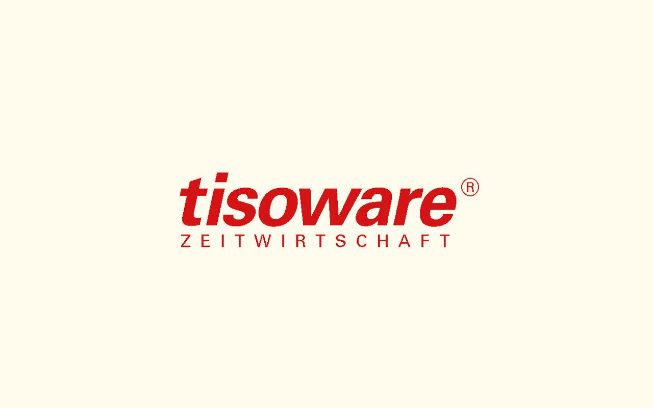 Logo der tisoware – Gesellschaft für Zeitwirtschaft mbH