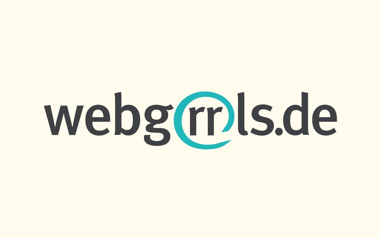 Logo des Netzwerks webgrrls