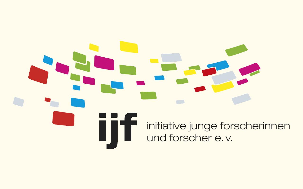 das Bild zeigt das Logo der Initiative Junge Forscherinnen und Forscher e.V