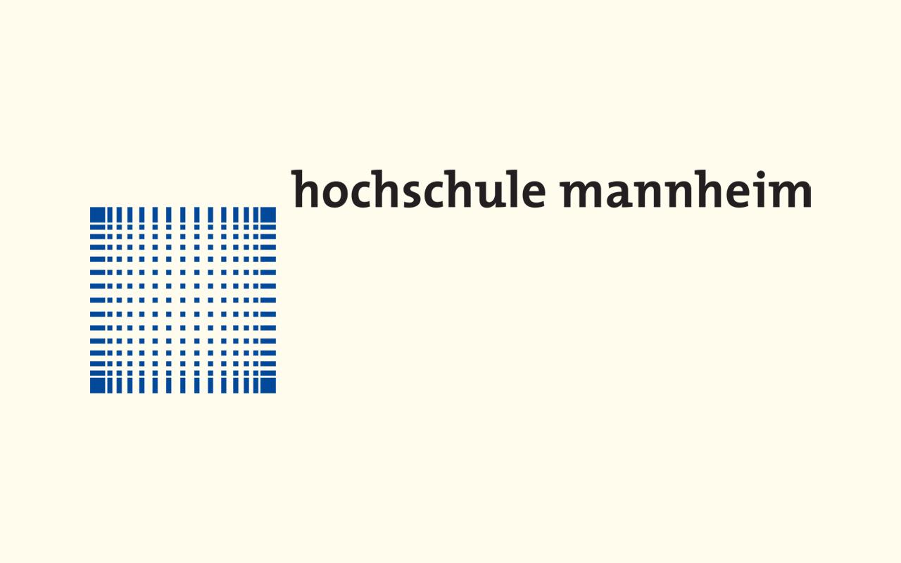 Das Bild zeigt das Logo der Hochschule Mannheim