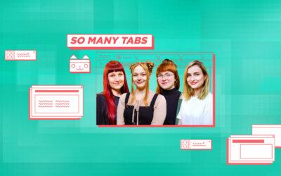 """Expertinnen für den digitalen Alltag: """"So Many Tabs"""""""