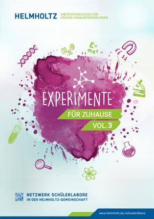 Das Coverbild der Zeitschrift Experimente für zuhause