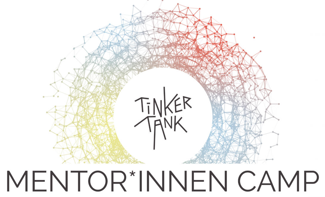 Logo des Tinkertank-Mentorinnencamps.