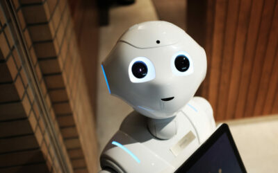 """Mit Klick auf dieses Bild eines Roboters gelangen Sie zum Beitrag """"Fair Machine Learning"""""""