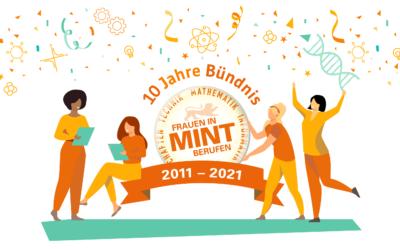MINT-Jubiläum: Das Bündnis wird 10!