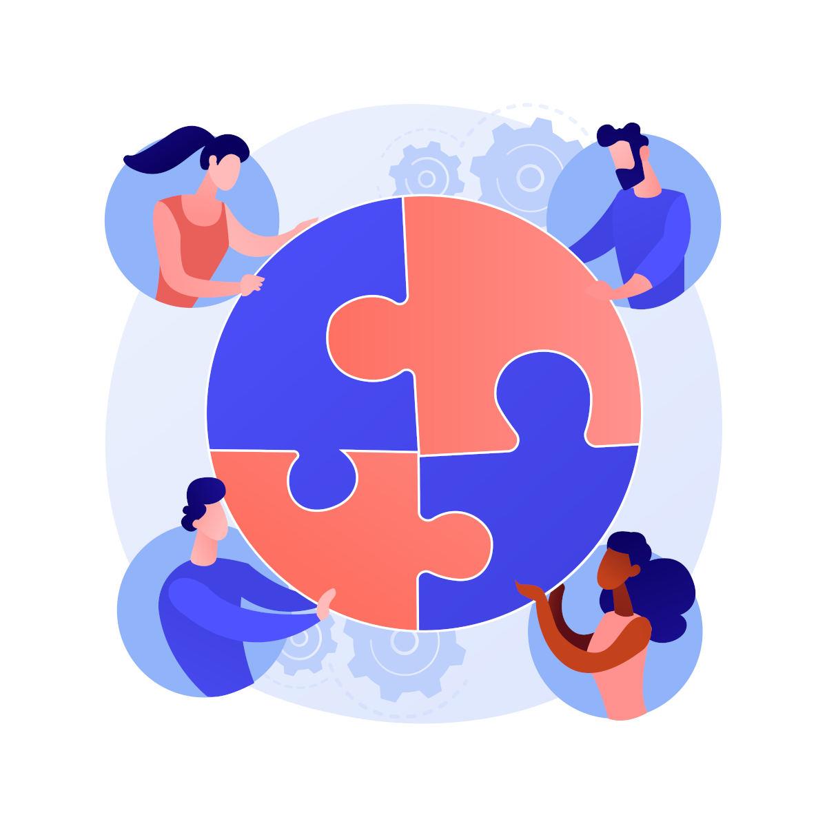 Bild symbolisiert drittes Netzwerktreffen.