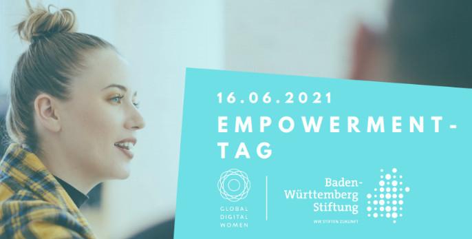 Das Bild zeigt die Veranstaltungsgrafik des Empowerment-Tages der Baden-Württemberg Stiftung.