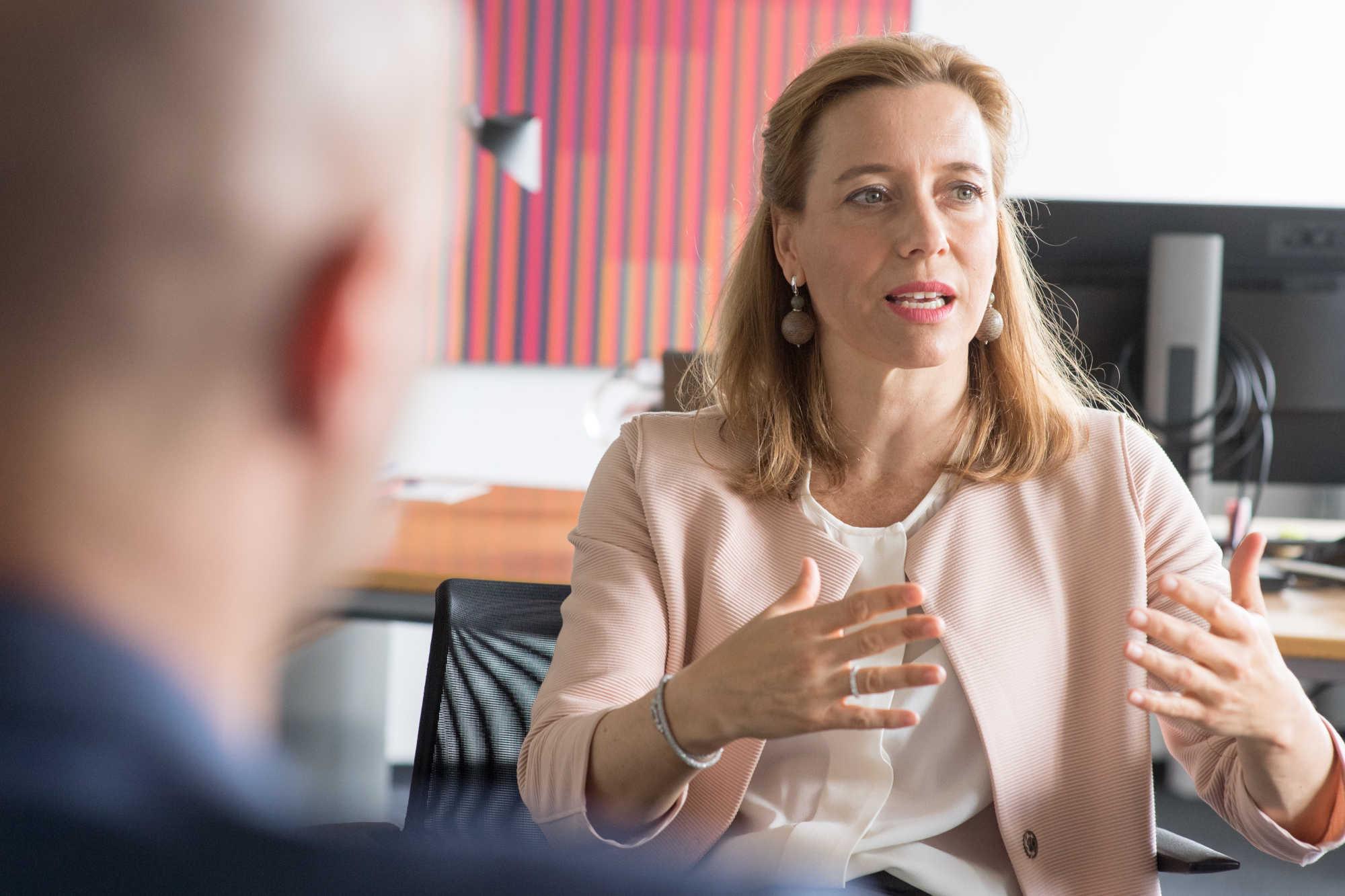 Sabine Scheunert ist Vice President Digital & IT Sales/Marketing bei der Mercedes-Benz AG